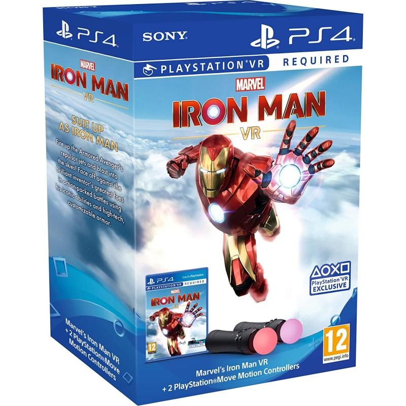 Marvel의 Iron Man VR PlayStation Move Controller 번들(PSVR 필요):, 단일옵션