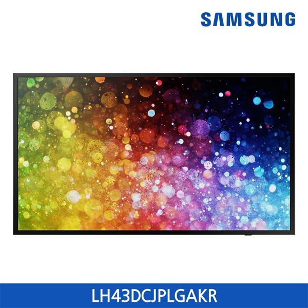 라온하우스 [삼성전자] 프리미엄 43인치 스탠드형 벽걸이 텔레비전 tv/티브이/LED LCD(와이드) /광시야각패널, 스탠드형 485883, 전문기사설치