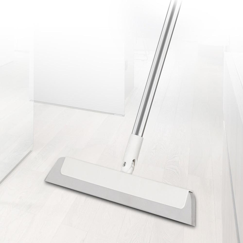 쏙쏙마켓 실리콘빗자루 스탠드 슈퍼빗자루 사무실 미용실 화장실 바닥청소 EVA 스퀴지 밀대, 1개