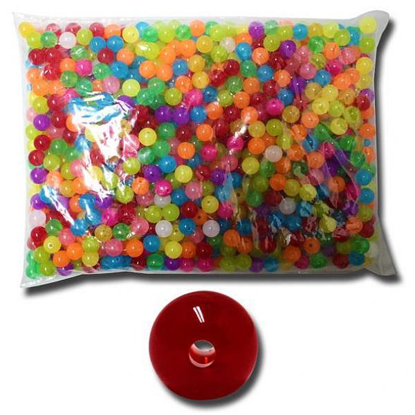 카윙 벌크사탕구슬10mm 슬라임재료 구슬꿰기 슬라임 비즈 액체괴물