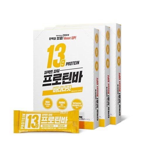 칼로바이 퍼펙트파워 프로틴바 단백질 에너지바 바나나맛, 30개