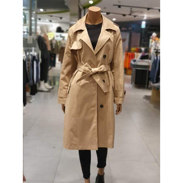 [현대백화점]테이트 (KA9F8-WCL010)여성 가을 베이직 트렌치 코트