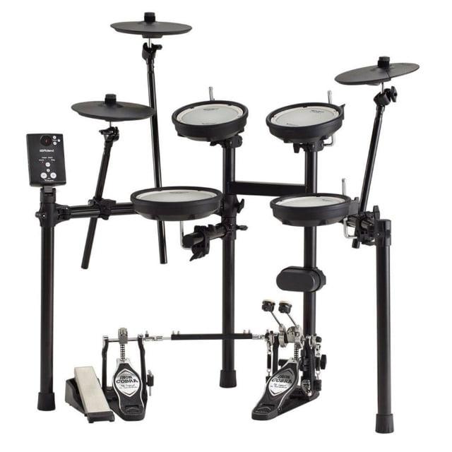롤랜드 전자드럼 TD-1DMK 올메쉬 실내연습용 드럼