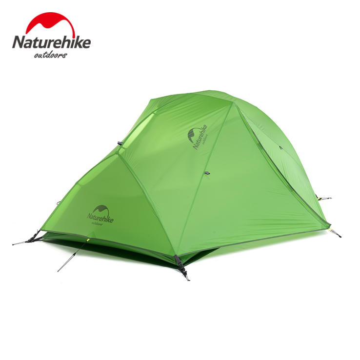 NH 초경량 산악 비박 백패킹 2인용 텐트, 20D 그린