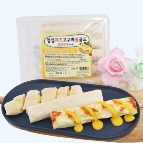 임실치즈농협 자연치즈+국내산고구마100% 군고구마롤, 1kg(무료배송)