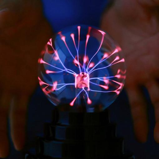 TianZhiLan 터치파이브 USB 플라즈마볼 과학실험용 정전기볼+고급손톱깎이세트증정