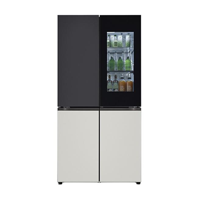 LG전자 M620MBG351S 오브제컬렉션 빌트인 타입 냉장고 1등급 메탈 블랙 그레이