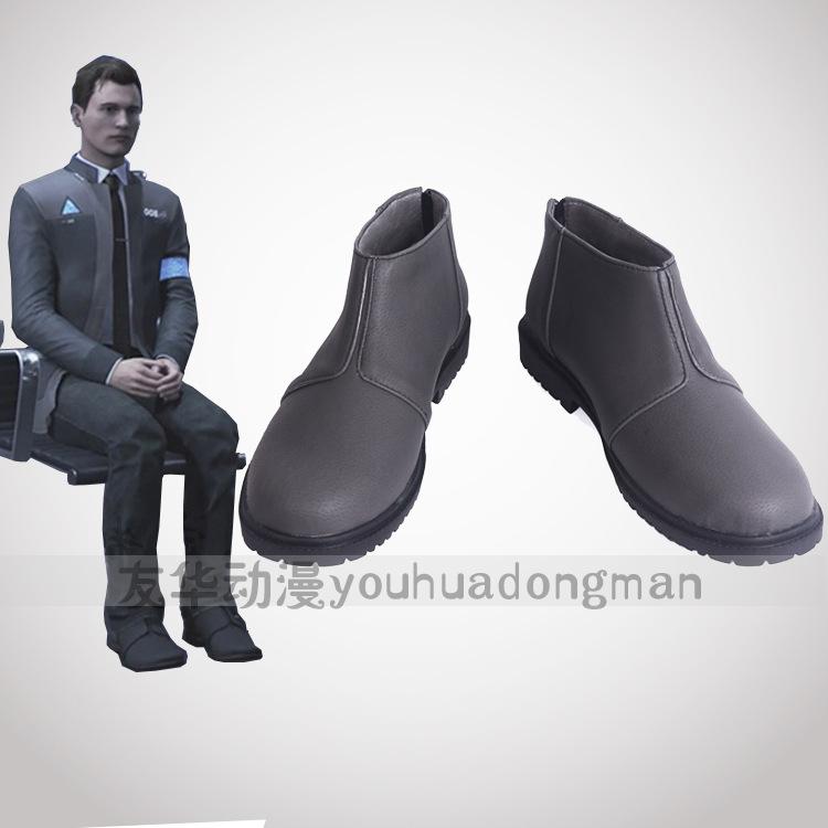 디트로이트 비컴 휴먼 코스프레 신발 부츠 111