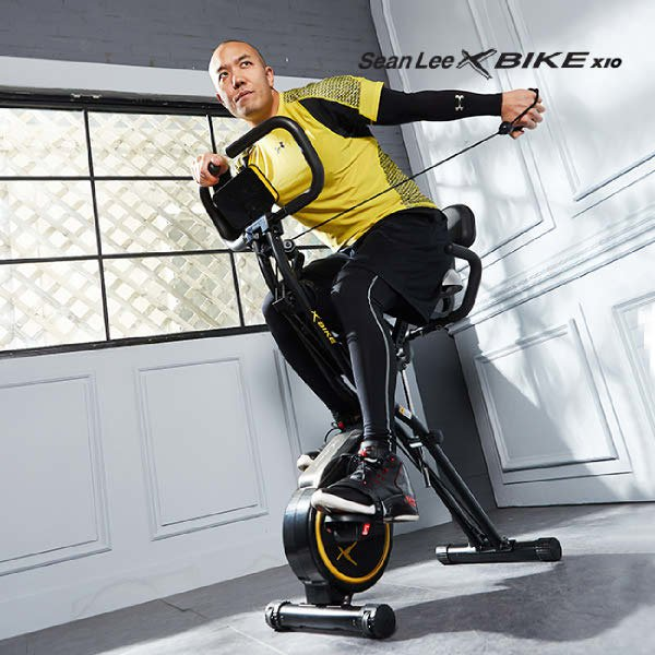 숀리 엑스바이크 x10, 화이트, 리퍼 숀리 엑스바이크 x10 엑스텐 실내자전거/헬스자전거