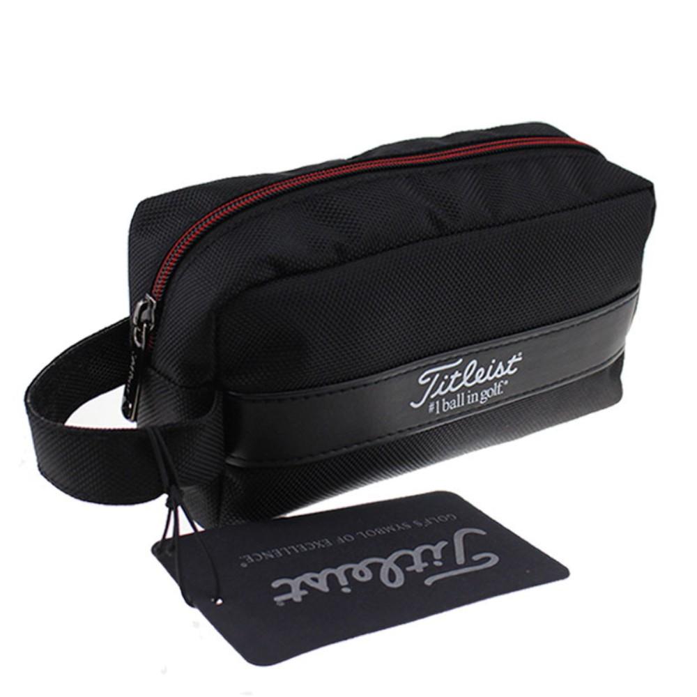 타이틀리스트 파우치 클러치백 골프 남녀공용 방수, 절묘한 핸드백