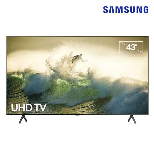 [삼성] 리퍼비시 43인치 크리스탈 스마트TV 4K Full UHD HDR, 스탠드 수도권-5-5786598013