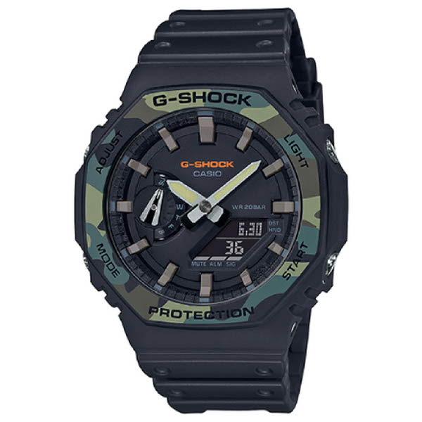 [현대백화점]G-SHOCK (스탠다드 모델)(카본코어 가드구조) - GA-2100SU-1ADR