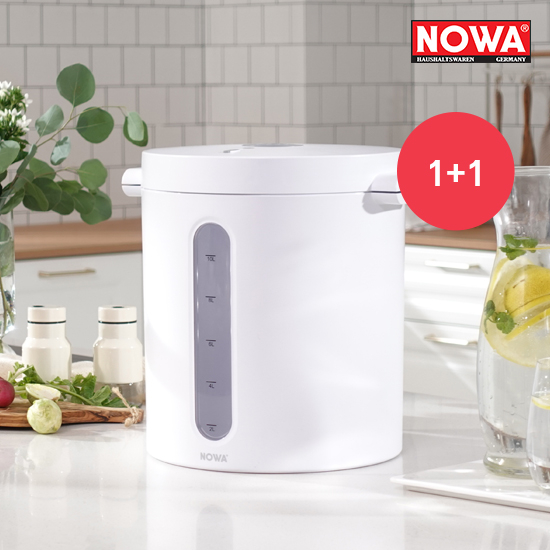 [K쇼핑]노와 무선 진공 쌀통 10kg 1+1 NWA-602