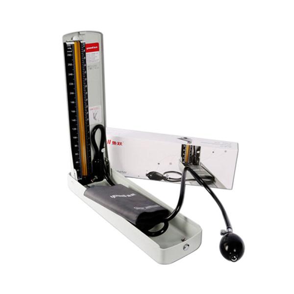 다이빙 수은 혈압계 홈 데스크탑 혈압계 노인 팔 형 수동 정밀 혈압계, 01 탁상용 수은 혈압계