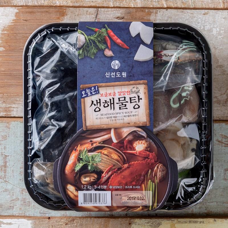 [메가마트]신선도원 오늘은! 생해물탕(3~4인분) 1.2kg, 1개