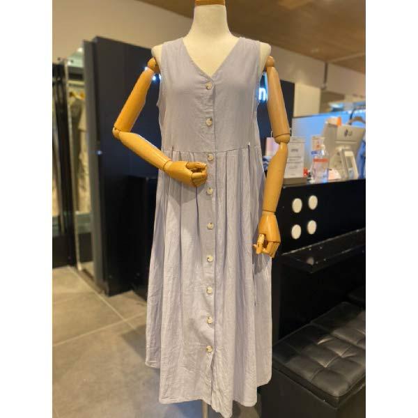 [현대백화점][코데즈컴바인] 민소매 셔츠형 리본 원피스 CGB-OP233W7 (POP 5816628438)