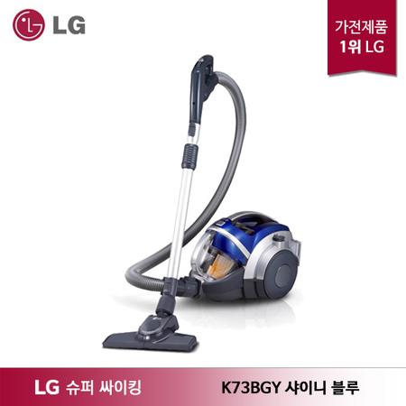 LG 슈퍼 싸이킹3 _주니어 청소기 K73BGY_샤이니 블루, 상세 설명 참조, 상세 설명 참조