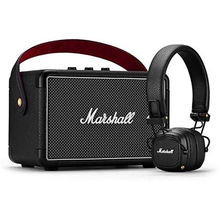 Marshall Store 방문 Marshall KILBURN II Bluetooth 스피커 Black amp; Major III : Amazon.co.uk : Elec, One Color, 상세 설명 참조0