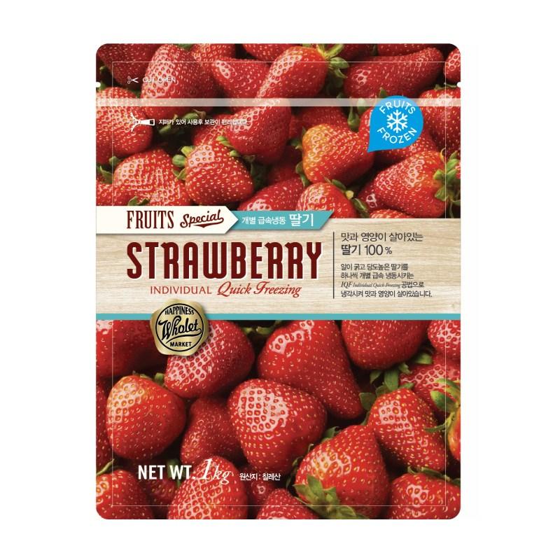 킴스클럽 냉동 딸기 1kg, 5개