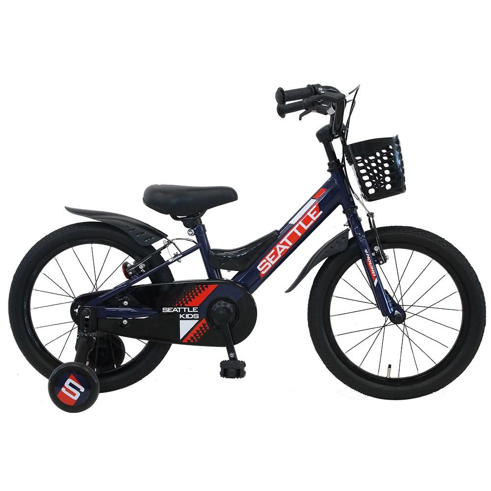 2021 삼천리자전거 하운드 아동용 시애틀 키즈 20인치, 미조립박스, 다크블루