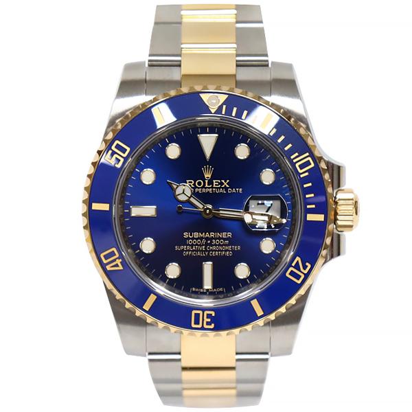 (대전중고명품)로렉스 116613 서브마리너 콤비 블루 청콤 40mm
