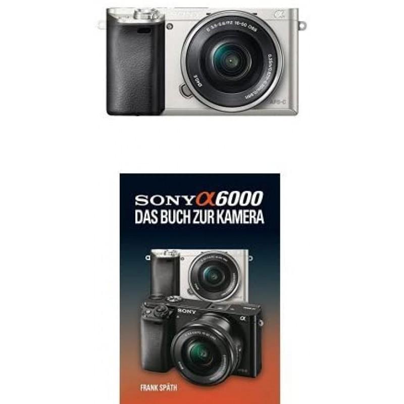 [독일직배송] 소니 알파 6000 시스템 카메라 포함. SEL-P1650 렌즈 실버 + 소니 알파 6000 수동, 단일옵션