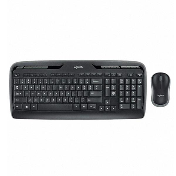 도매빅뱅 로지텍 MK330r 무선 키보드 세트 무선키보드/무선키보드세트/키보드마우스세트/로지텍키보드세트, 단일 색상, 단일 모델명/품번