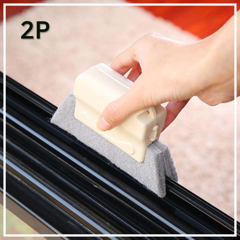 핸들 스펀지 브러쉬 틈새 창틀 청소 2P 화장실변기청소 욕실브러쉬 화장실청소솔