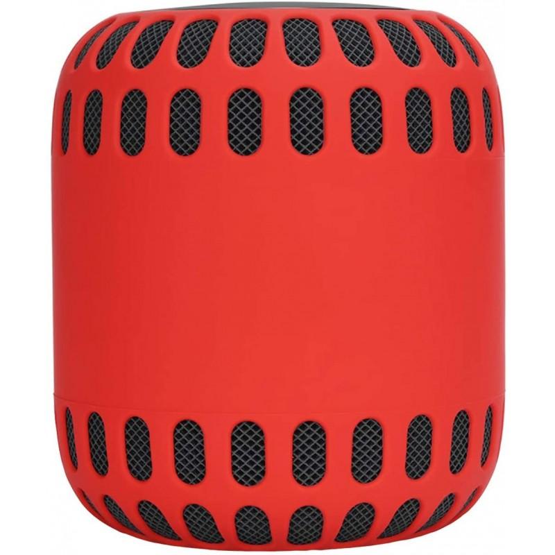 애플 홈팟 스마트 스피커용 Oriolus Silicone 케이스 커버(빨간색), 단일옵션, 단일옵션
