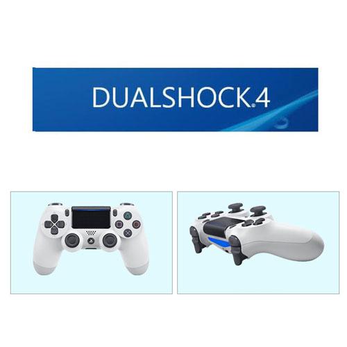 소니 PS4 듀얼쇼크4 정품 무선컨트롤러 무선패드 더블쇼크 무선 화이트 블루투스 컨트롤러, 1개, 사이즈