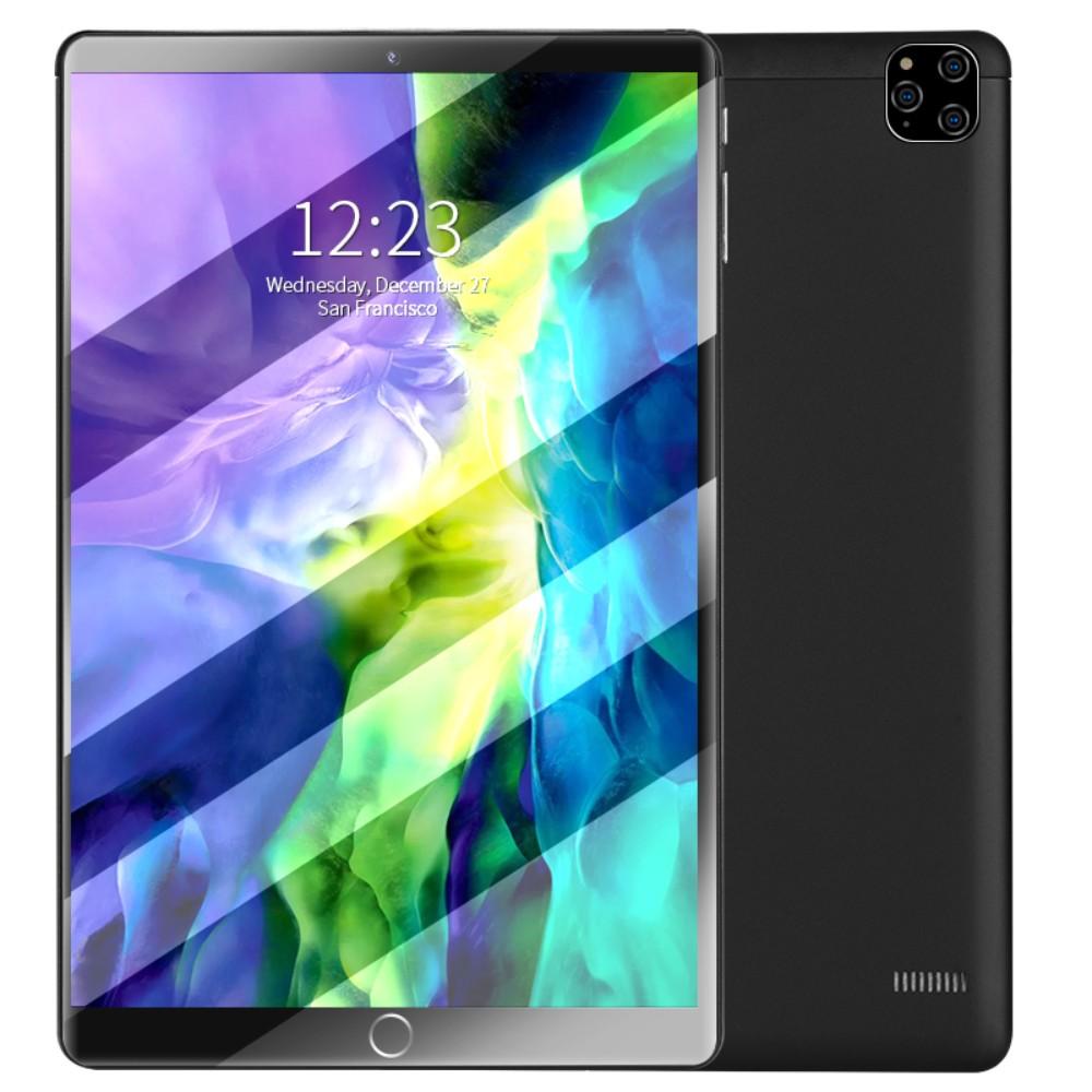 새로운 2020 년 초박형 태블릿 PC 12 인치 풀 넷콤 삼성 대형 스크린 안드로이드 5G 휴대폰 투 인원 학습기 특수 게임 샤오 미 화웨이 애플 아이 패드 프로 라인 대학원 입학 시험, 공식 표준 + 64GB, 글로리 블랙 + 12 인치 풀 넷콤 와이파이 6 + 5G 홈 파일럿 버전