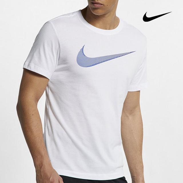 나이키 드라이핏 코튼 스우시 반팔 티셔츠 5968-100 (화이트)-14-202612132