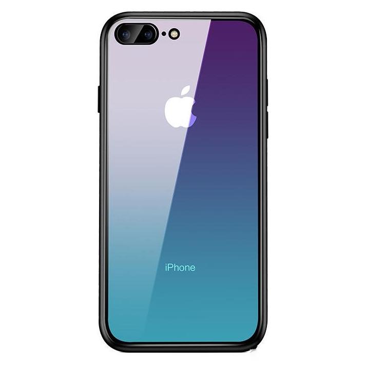 아이폰 SE 2세대 그라데이션 강화유리 케이스 휴대폰