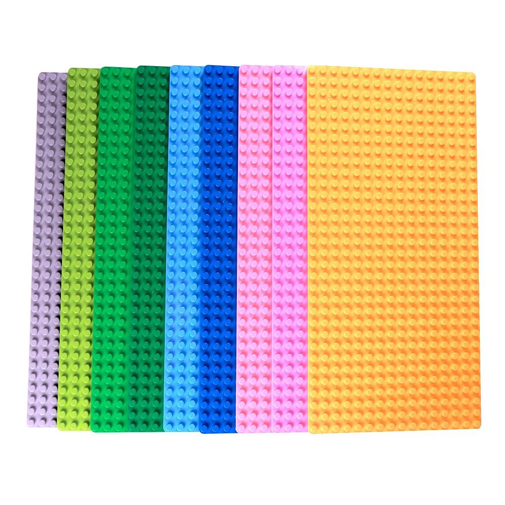 토이다락방 레고 듀플로 놀이판 블럭판 듀플로판, 듀플로판 16x32칸 - 파랑