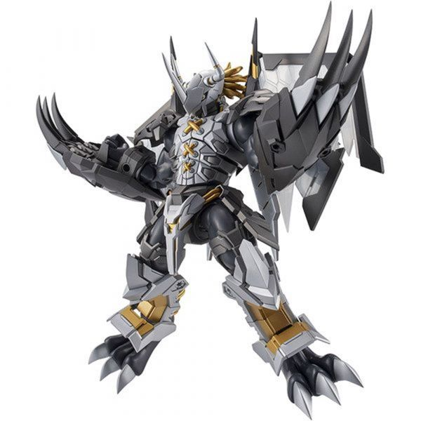 반다이 피규어라이즈 스탠다드 검은 디지몬x 어드벤처 블랙 워그레이몬x 건프라 프라모델 피규어 FRS Digimon Dark Fight Tyrannosaurus Beast, 단일사이즈, 단일색상