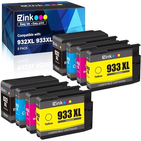 잉크토너 E-Z Ink (TM) Compatible Ink Cartridge Replacement for HP 932XL 933XL 932 XL 933 XL to use, 상세 설명 참조0, One Color