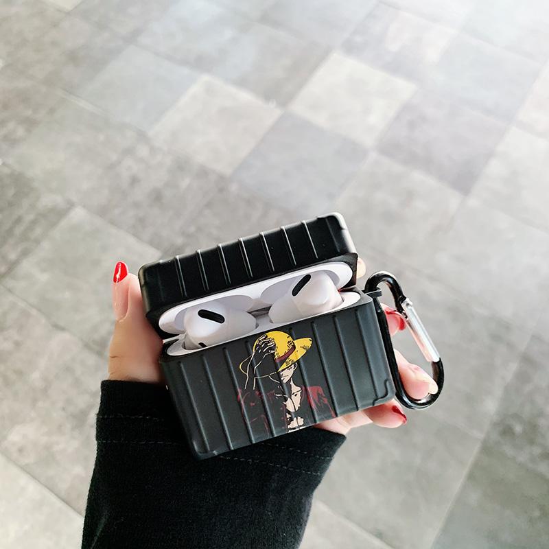 Airpods 루피 애플 에어팟 케이스, 블랙 3세대, 없음