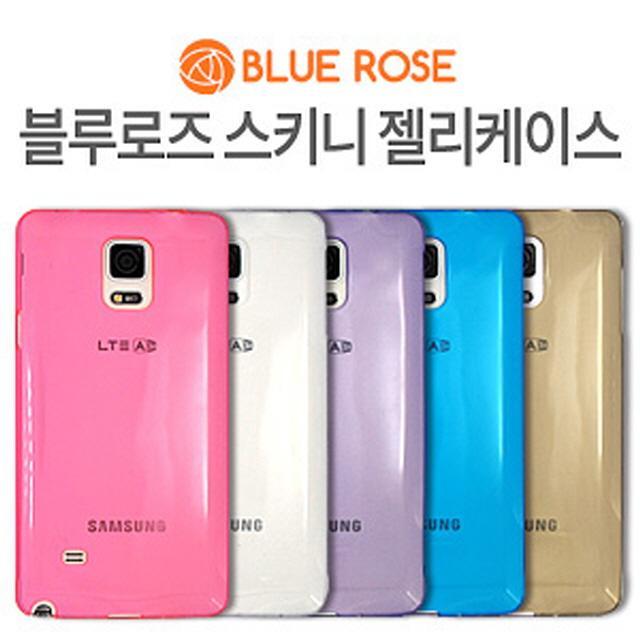 YCD370885(BLUE ROSE/블루로즈)갤럭시노트2(E250) 스키니 젤리케이스, 그레이, 단일옵션