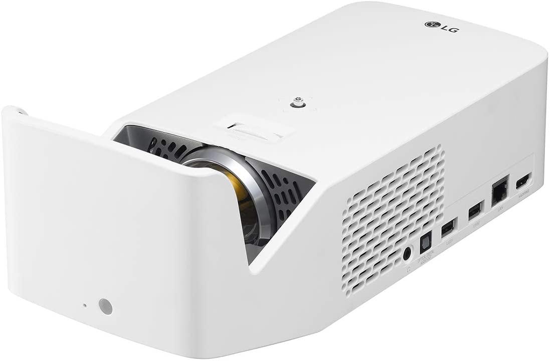 (관부가세포함) LG HF65LA Ultra Short Throw LED Home Theater CineBeam Projector with Smart TV and Bluetooth Sound Out-B07NC5VWQ2, Whiteone size