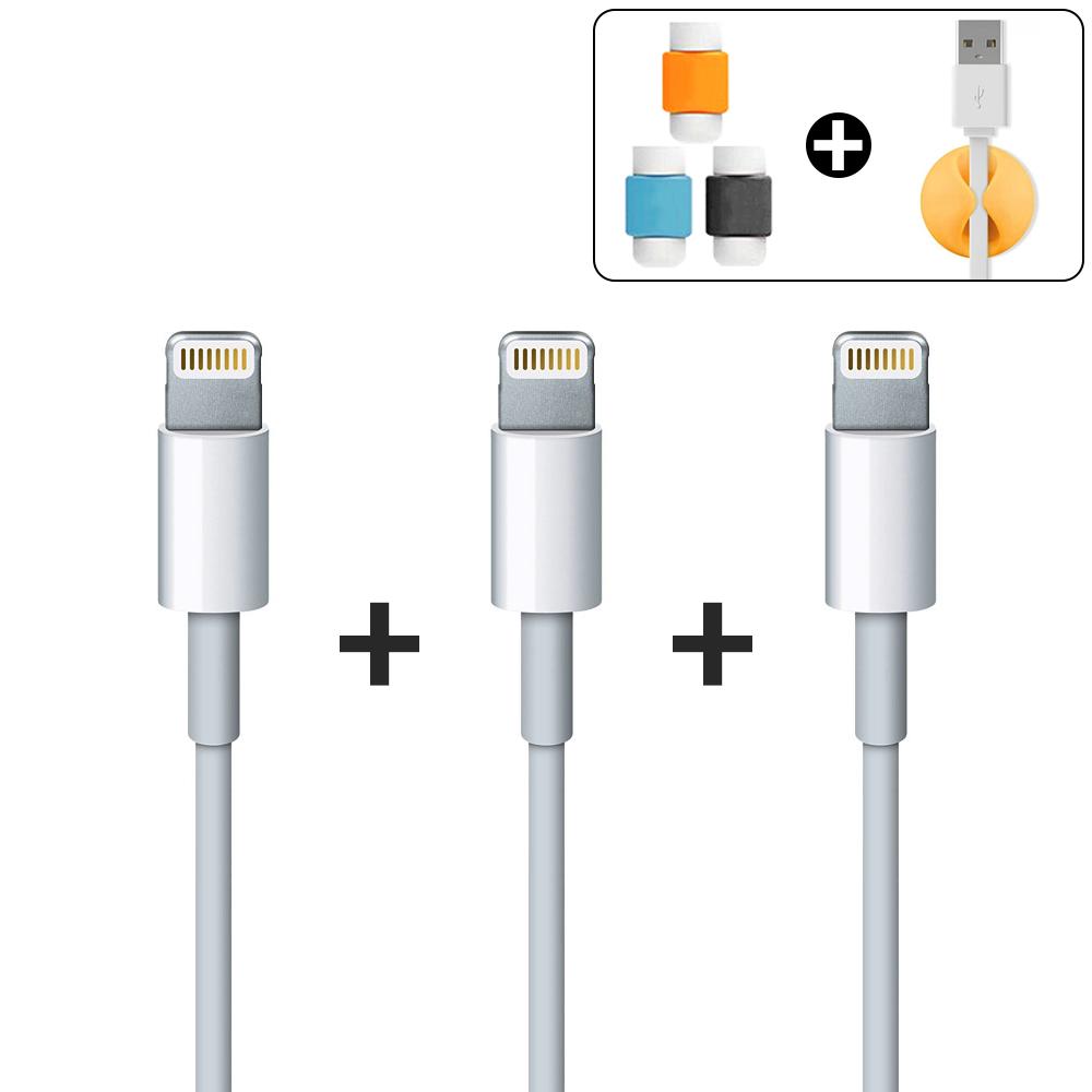 원바이원 아이폰 케이블 1m+1m 라이트닝 8핀 충전 아이패드 충전기