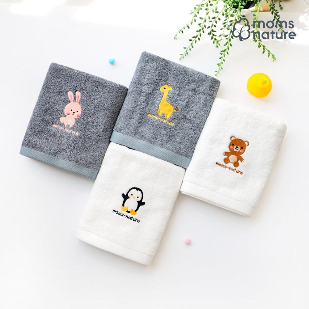 맘스네이처 대나무 아기목욕타올(단품) / 40X80, 타올_G토끼