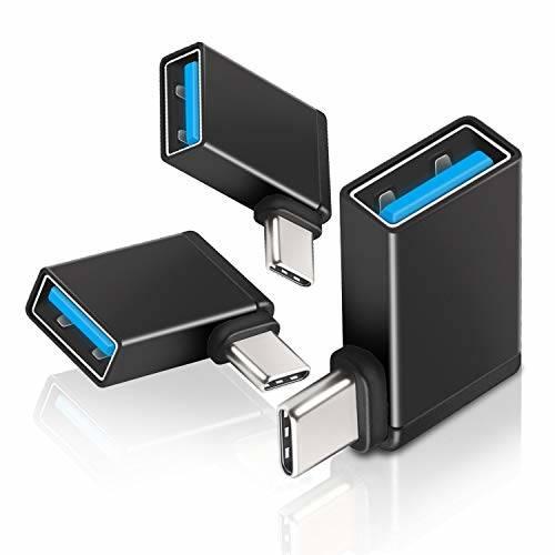 Right Angle USB C OTG(3-Pack) UseBean Aluminum USB C to USB 3./50733