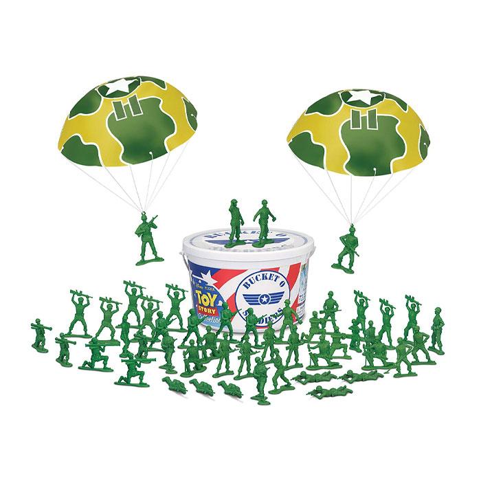 픽사 토이스토리 버켓솔저 군인 병정 피규어 / Pixar Toy Story Bucket o Soldiers
