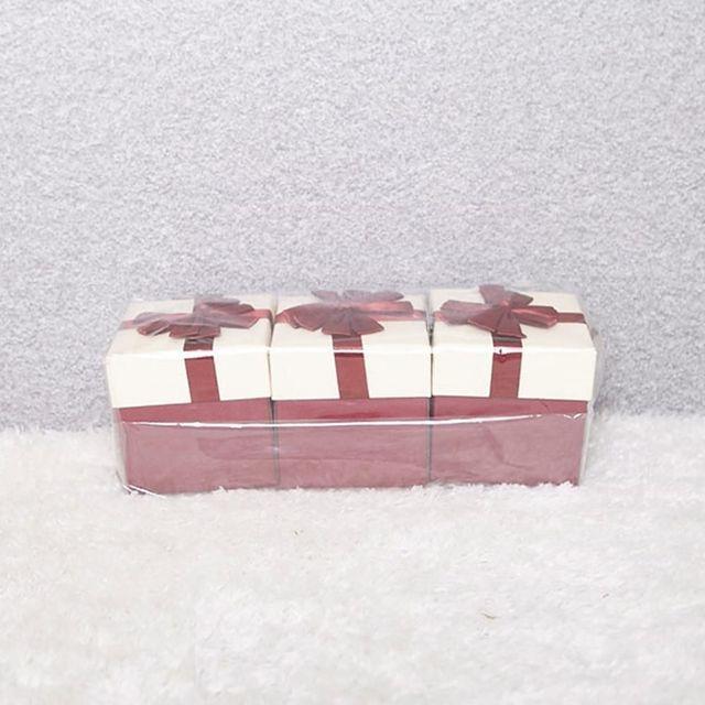 PCO358008 101 꽃리본 선물상자 레드 10x10 선물포장지 포장상자 상품권포장박스 선물용상자 선물케이스