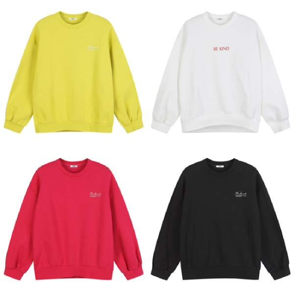 [현대백화점][폴햄] PHA4TR2030 (여) 세미 크롭 맨투맨 티셔츠 PHA4TR2030A