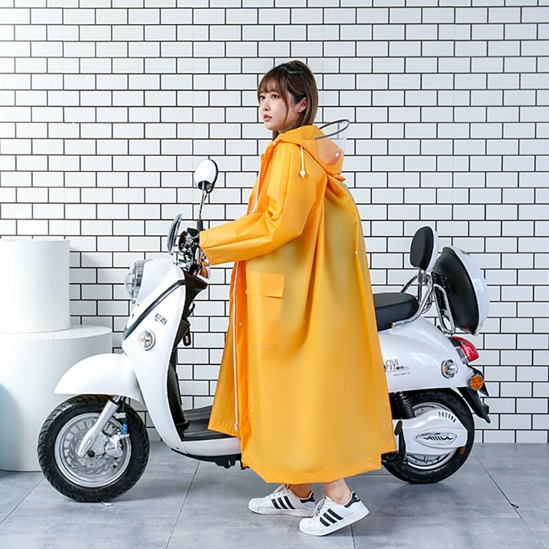 칠나무 성인용 남녀 공용 우의 비옷 레인코트 방수 우비 CRYY9