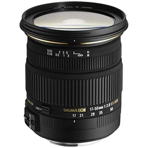 Sigma 17-50mm f/ 2.8 EX DC OS HSM FLD 라지 조리개 스탠다드 Zoom 렌즈 fo, 상세내용참조