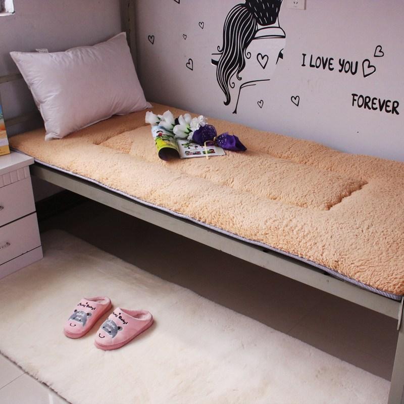 토퍼 템퍼 매트리스 침구 기타 싱글 학생 기숙사 털 퍼 다운 침대 요, AO_90 x 190