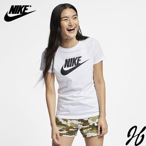 나이키 여성용 에센셜 아이콘 퓨처 반팔 티셔츠 BV6170-100