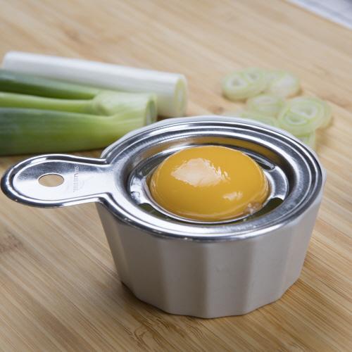 스텐 계란노른자 흰자 분리 분리기 기발한아이디어상품